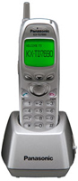 The Panasonic KX-TD7690 Wireless Handset